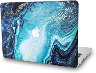 Hard Case for Apple MacBook Pro New 13.3 Inch with/Out Touch Bar Model A1989/A1706/A1708 - L2W Laptop Computers Accessories Plastic Smooth Print View Design Protective Pattern Cover,Riverbed