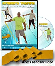 Exercise for Seniors: Senior Exercise DVD + Resistance Band. All Exercises are Shown Standing and Seated! Senior Workout Video Helps You get Stronger, core & abs, Aerobic Heart Health, Coordination