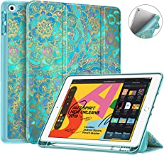 Fintie SlimShell Case for New iPad 7th Generation 10.2 Inch 2019 with Built-in Pencil..