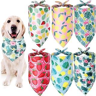 New Puppy Gift Matching Dog Bandana and Scrunchie Dog Lover Dog Mom Gift VELCRO\u00ae brand fastener Dog Bandana,Spring Easter Dog Bandana