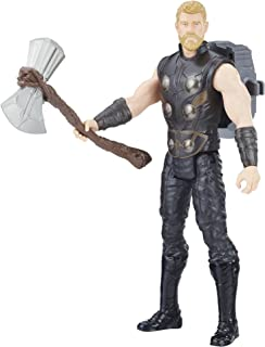 Avengers- Infinity War Titan Hero Power Fx Thor, Multicolor (Hasbro E0616102)
