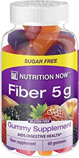 Nutrition Now Fiber Gummies, 60 Count