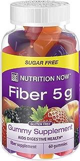Nutrition Now Fiber Gummies, 60 Count