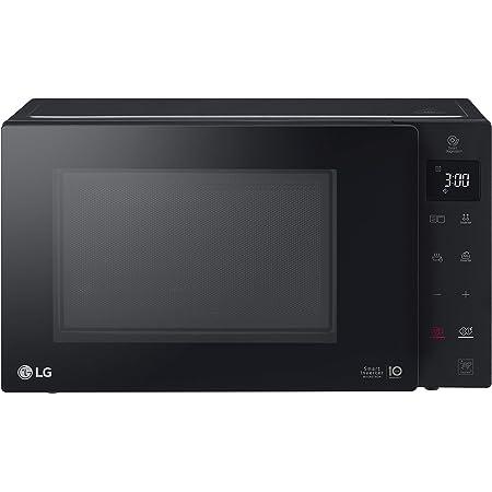 LG MH6336GIB Forno Microonde Smart Inverter con Grill al Quarzo, 23 Litri, 1150 W, Programmi Automatici, 5 Livelli di Potenza Regolabili - Nero Fumè