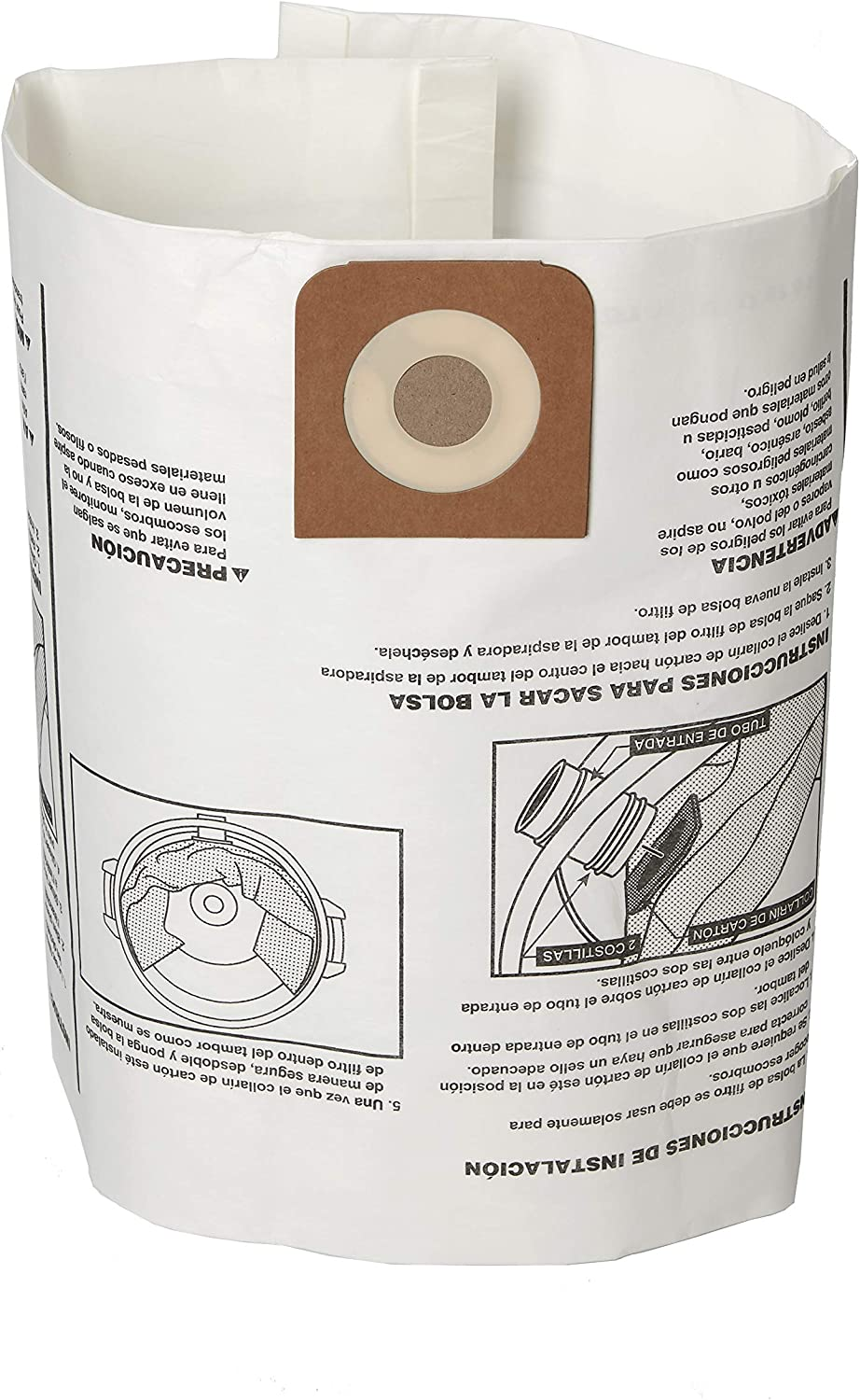 Craftsman 38750 Limited time cheap sale Fine Long-awaited Dust Wet Dry Bags 1 for Vac Collection