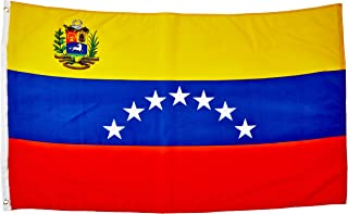 Quality Standard Flags Venezuela 7 Stars Polyester Flag, 3 by 5'