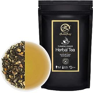 Turmeric Ginger Organic Herbal Tea ~ Makes 50 Cups
