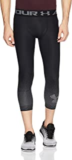 Under Armour Mens Under armour Men's HeatGear® Armour Graphic ¾ Leggings 1298232