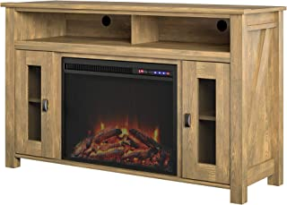 Ameriwood Home Bloomfield Fireplace TV Stand up to 48
