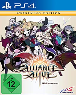 Alliance Alive HD Remastered - Awakening Edition (PS4)