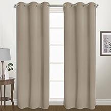 United Curtain، Putty Co. Belize ستارة نافذة معتمة مقاس 80 بوصة X 84 بوصة