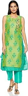 Trishaa by Pantaloons Women's A Line Salwar Suit