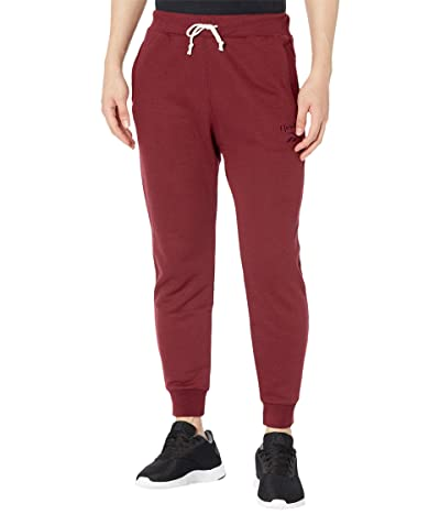 Reebok Training Essentials Melange Pants (Maroon) Men