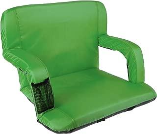 Home-Complete 广场体育场椅 漂白剂垫 带衬垫背支撑