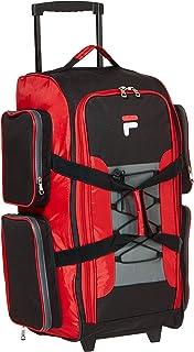 "Fila unisex-adult 26"" Lightweight Rolling Duffel Bag Duffel Bag"