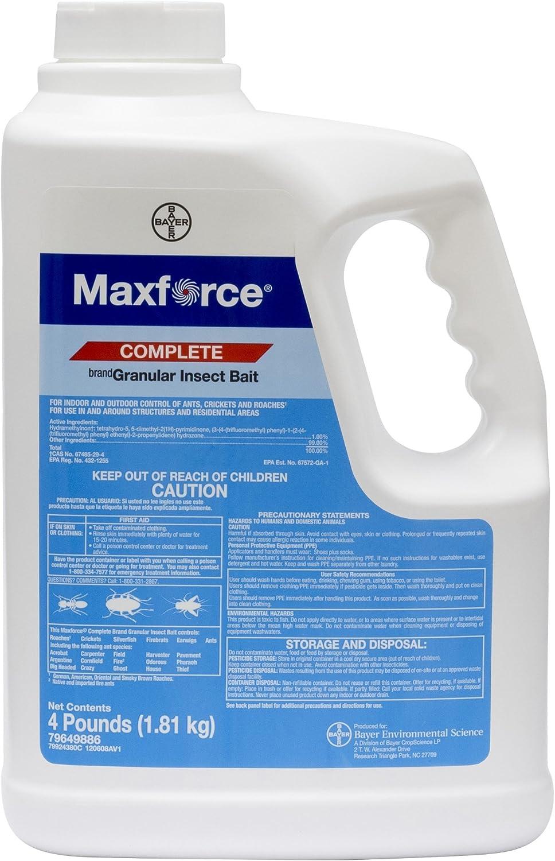 Bayer Maxforce Complete Granular Bait - Max 82% OFF Produc 4 jug lb Same day shipping