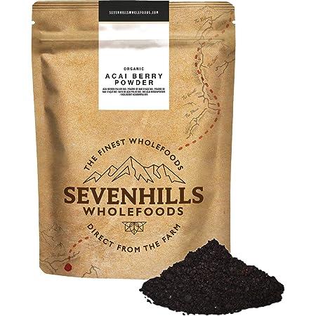 Sevenhills Wholefoods Baya De Açaí En Polvo Orgánico 250g
