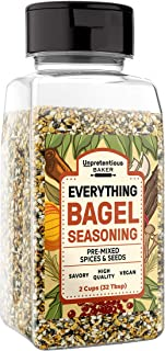 Best Everything Bagel Seasoning,2 cups Shaker Jar, Add Texture & Flavor to Any Recipe, Mix of Sesame Seeds, Poppy Seeds, Garlic, Onion & Salt, Convenient Shaker Jar Review