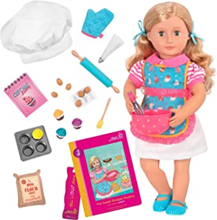 Our Generation Jenny-Deluxe Doll with Book 18