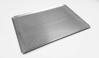 Sasa Demarle HG330460 - Sartén perforada (aluminio, 45,7 cm de largo, 33 cm de ancho, 2,5 cm de altura)