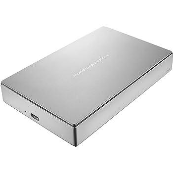 LaCie Porsche Design 4TB USB-C Mobile Hard Drive, Silver ( STFD4000400 )