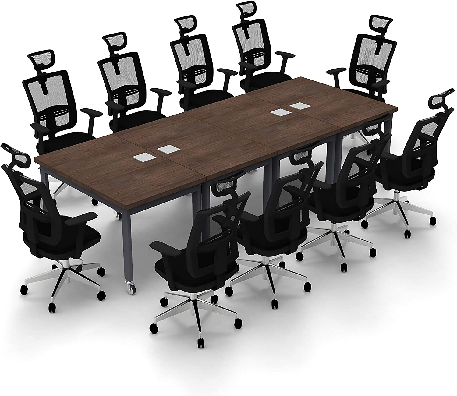 Bargain Conference Tables Meeting Seminar Model Java 55% OFF 4pc Color X-Th 6424