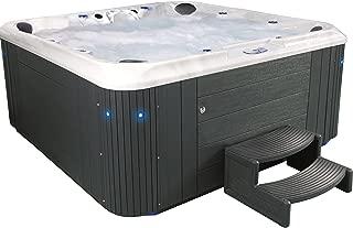 Essential Hot Tubs 80 Jets Regent Hot Tub, Grey