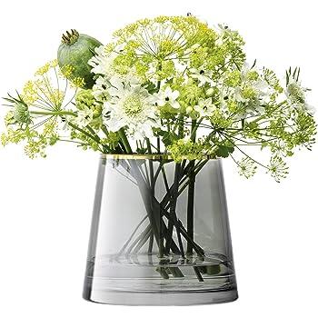LSA International SB34 Sorbet Vase/Lantern H16cm Licorice