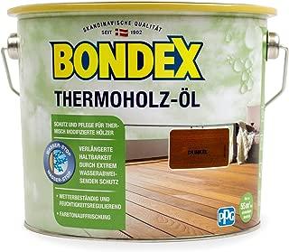 Bondex Thermoholz-Öl - dunkel - 2,5l - 388159