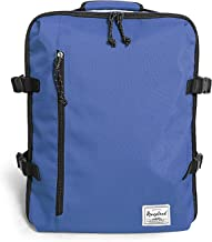 Rangeland Travel Backpack NEW 2019 21L Carry-on Daypack Fits 15-inch Laptop Notebook and Travel Accessories, Blueberry – Meets IATA Flight Standards