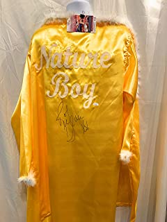 Ric Flair WWE Signed Autograph Wrestling Full Size Nature Boy Robe 16x Champ Inscribed YELLOW JSA Witnessed Certified