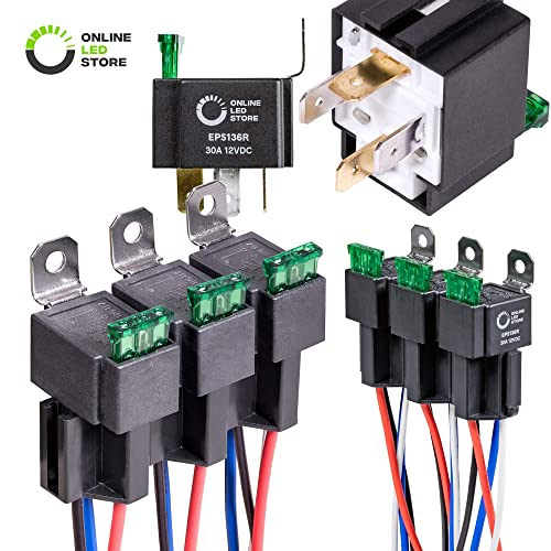 Magnificent Dc 12V Relay Amazon Com Wiring Cloud Geisbieswglorg
