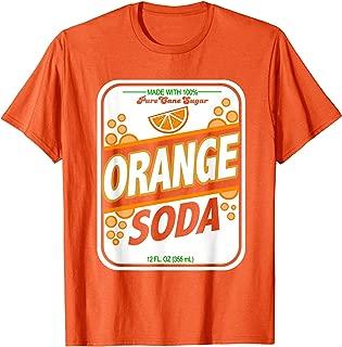 Retro Style ORANGE SODA Costume T Shirt