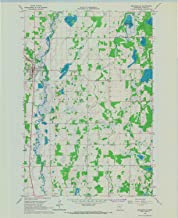 YellowMaps Browerville MN topo map, 1:24000 Scale, 7.5 X 7.5 Minute, Historical, 1966, Updated 1967, 27 x 22 in