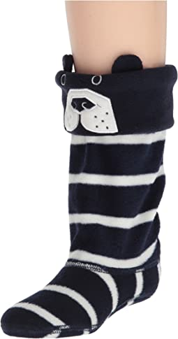 Joules Kids - Smile Fleece Welly Sock (Toddler/Little Kid/Big Kid)