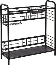 AmazonBasics Sporting Goods Storage Organizer Shelf - Black