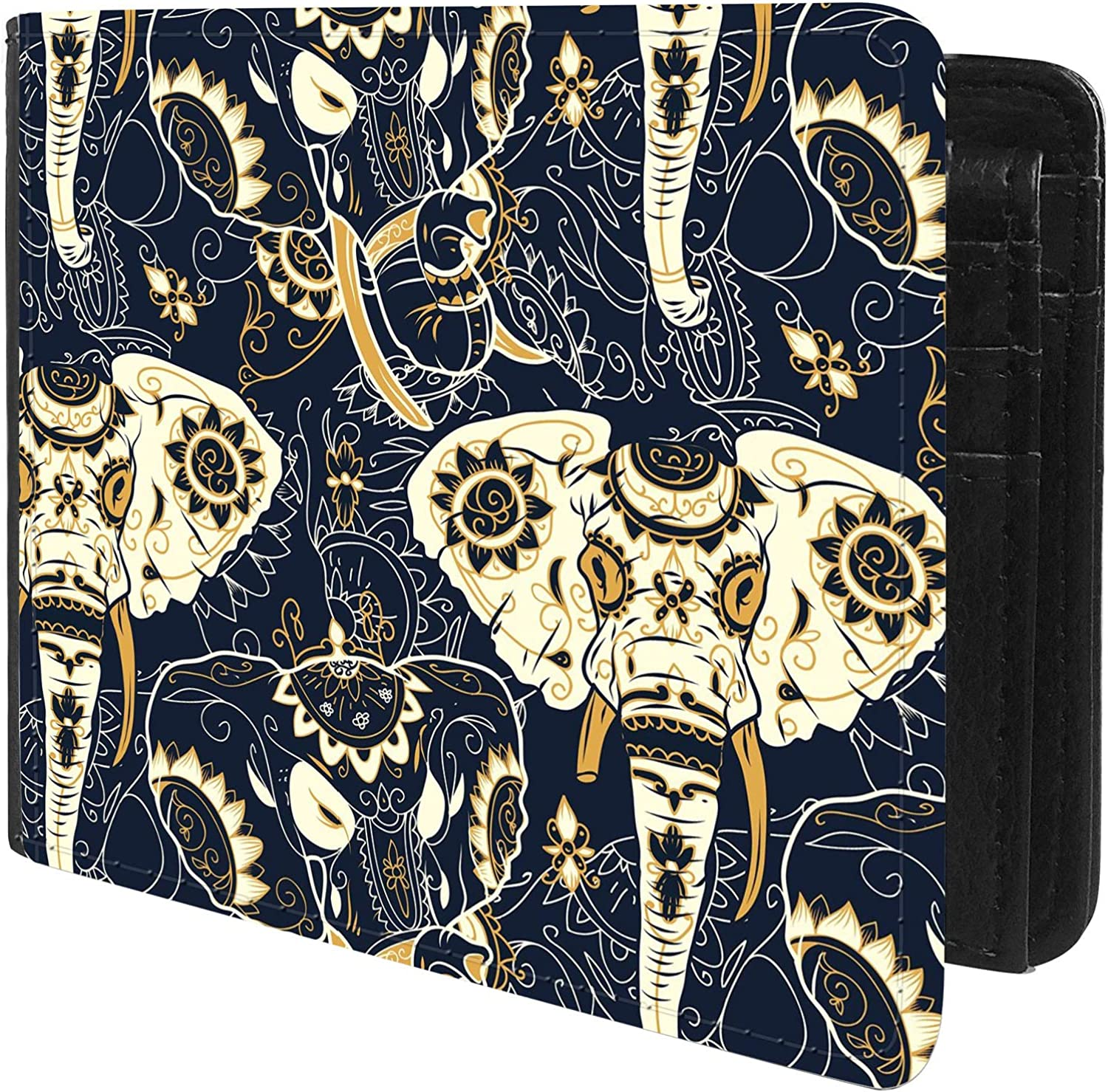 San Diego Mall Unique Desige Pattern - Indian elephant pattern Slim Front Pock New Shipping Free Shipping