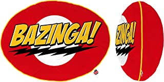 The Big Bang Theory Bazinga! 14 inch Red Plush Pillow by Ripple Junction