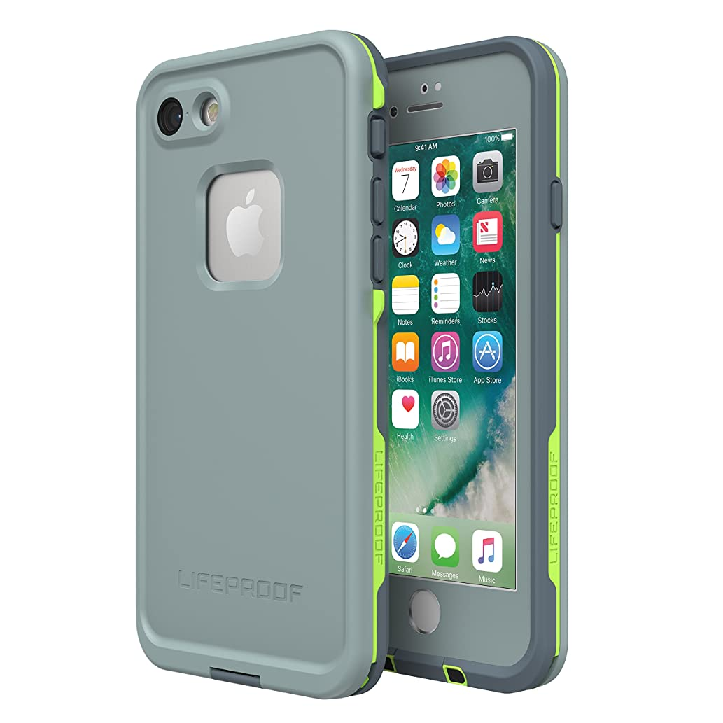 Lifeproof FRē SERIES Waterproof Case for iPhone 8 & 7 (ONLY) - Retail Packaging - DROP IN (ABYSS/LIME/STORMY WEATHER)