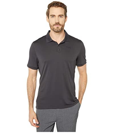 Helly Hansen Lifa Active Solen Short Sleeve Polo (Ebony) Men