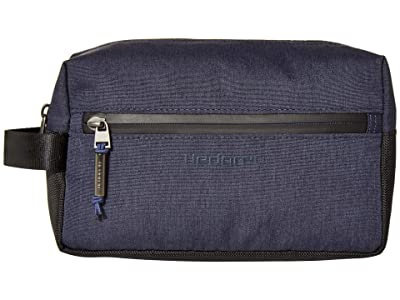Hedgren Axel Toiletry Bag (Dark Blue) Handbags