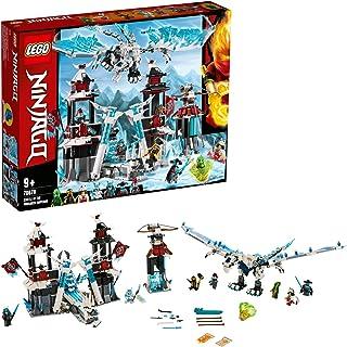 LEGO 70678 NINJAGO Castle of the Forsaken Emperor Set with Ice Dragon Toy, Masters of Spinjitzu Playset