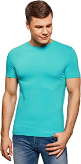 oodji Ultra Uomo T-Shirt Basic Slim Fit