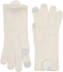 UGG - Smart Gloves with Fur Pom