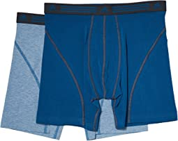 adidas - Athletic Stretch 2-Pack Boxer Brief