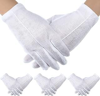 childrens white cotton gloves