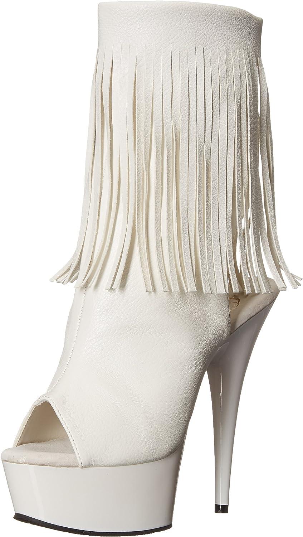 Pleaser Womens Del1019 Wpu M Boot