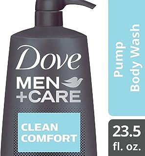 Dove Men+Care Body Wash Pump, Clean Comfort, 23.5 Fl Oz (Pack of 4)