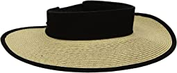 San Diego Hat Company - UBV037 Roll Up Visor with Canvas and Terry Cloth Sweatband