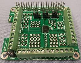 Alchemy Power Inc. Pi-16ADC. 16 channel, 16 bit Analog to Digital Converter (ADC) for Raspberry Pi